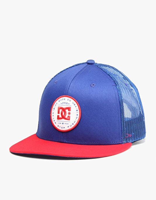 DC Daxbred Snapback Cap - Royal/Red