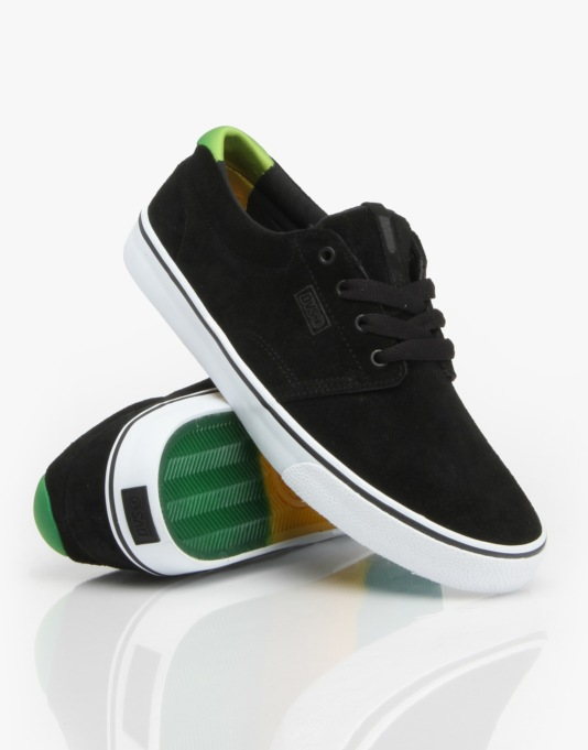 DVS Daewon 13 CT Skate Shoes - Black/Poster Suede
