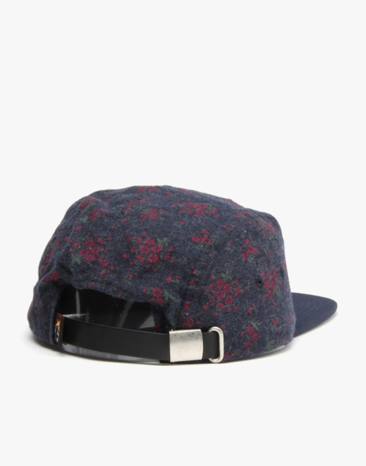 The Hundreds Flores 5 Panel Cap - Navy
