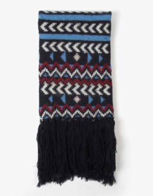 Barts Ford Scarf - Navy