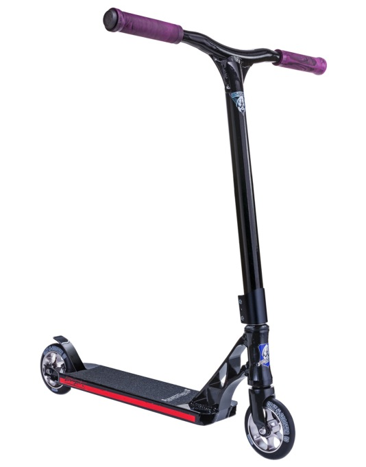 Grit Tremor Grom 2015 Scooter - Black/Purple Speckle