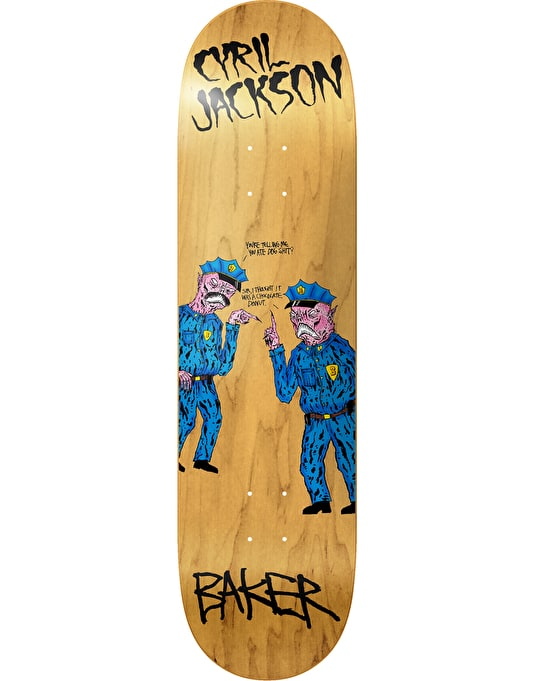 Baker x Neck Face Cyril Chocolate Donut Pro Deck - 7.875""