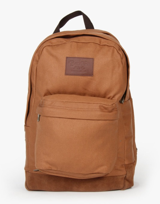 Brixton Basin Backpack - Copper