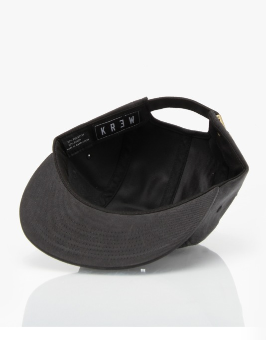 Kr3w Smith 5 Panel Cap - Black