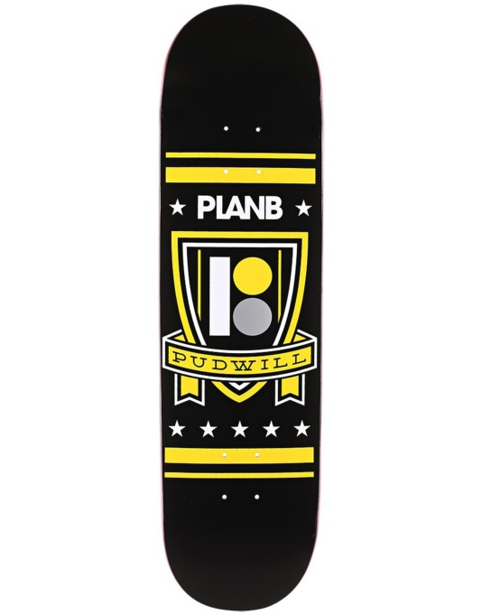 Plan B Pudwill Shield BLK ICE Pro Deck - 8.25""