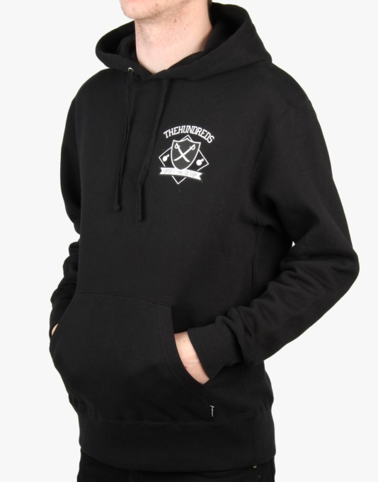 The Hundreds Home Team Pullover Hoodie - Black