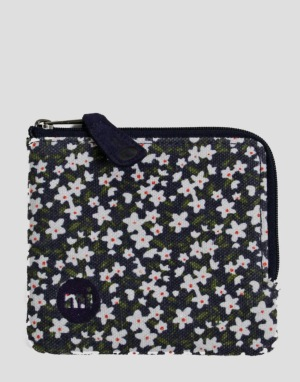 Mi-Pac Coin Holder - Ditsy Floral Navy