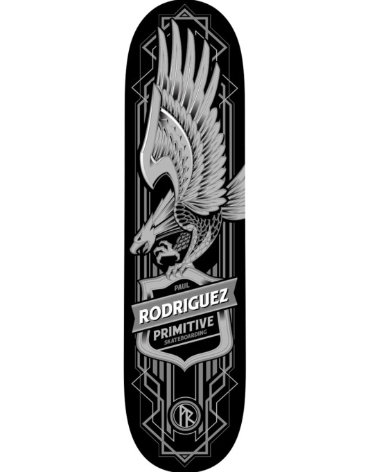 Primitive Skateboarding P-Rod Eagle Pro Deck - 8""