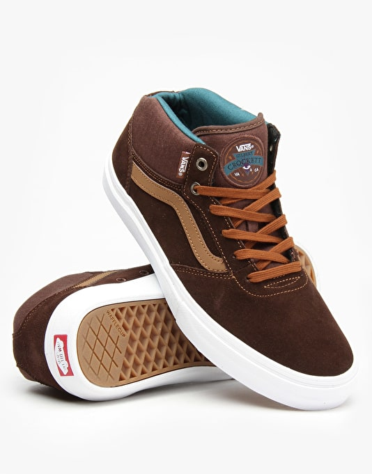Vans Gilbert Crockett Pro Skate Shoes Mid - Demitasse/Dachshund