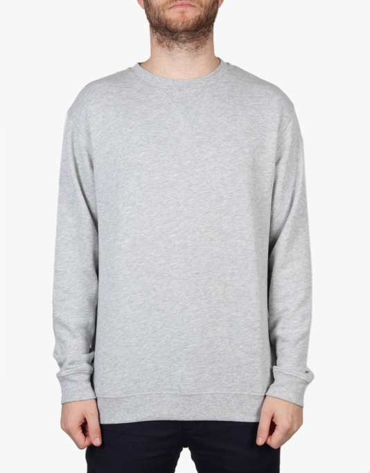 DC Rebel Crew - Heather Grey