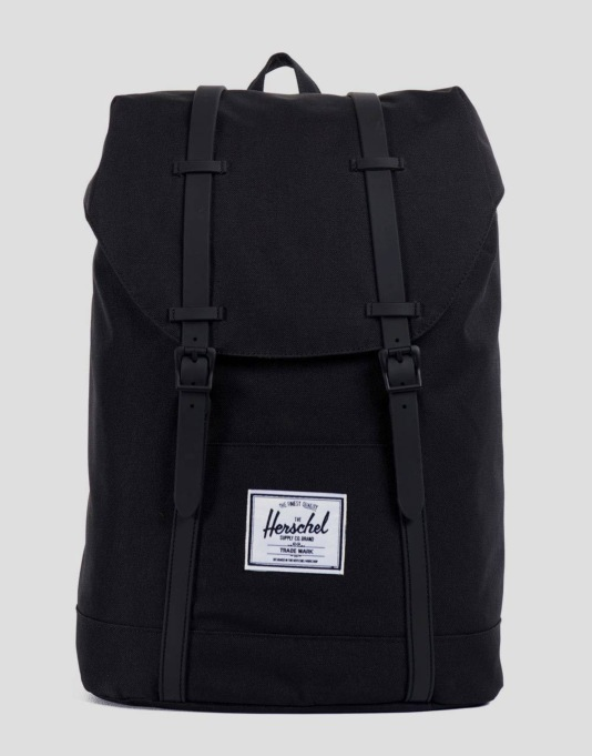 Herschel Supply Co. Retreat Backpack - Black/Black