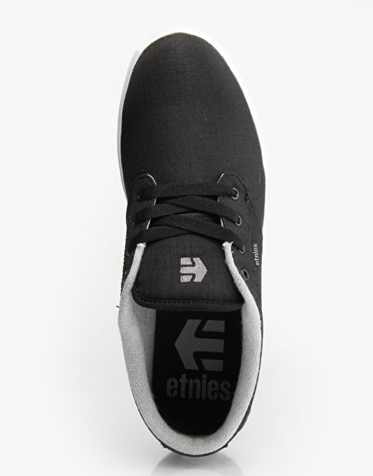 Etnies Jameson 2 Eco Skate Shoes - Black/White/Grey