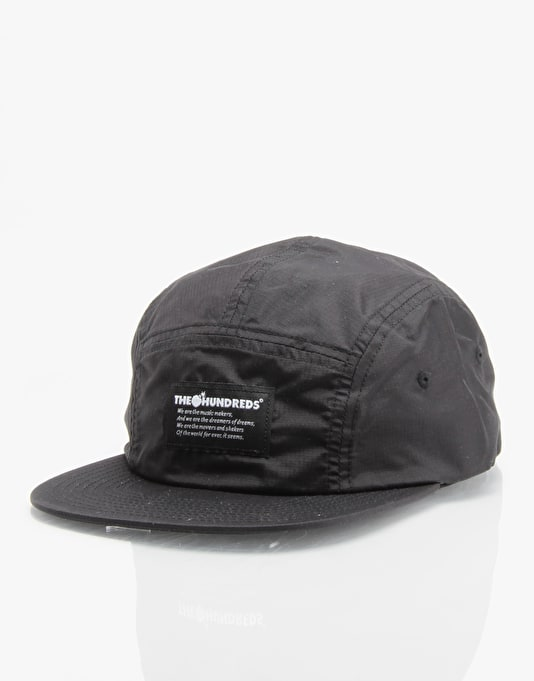 The Hundreds Proof 5 Panel Cap - Black