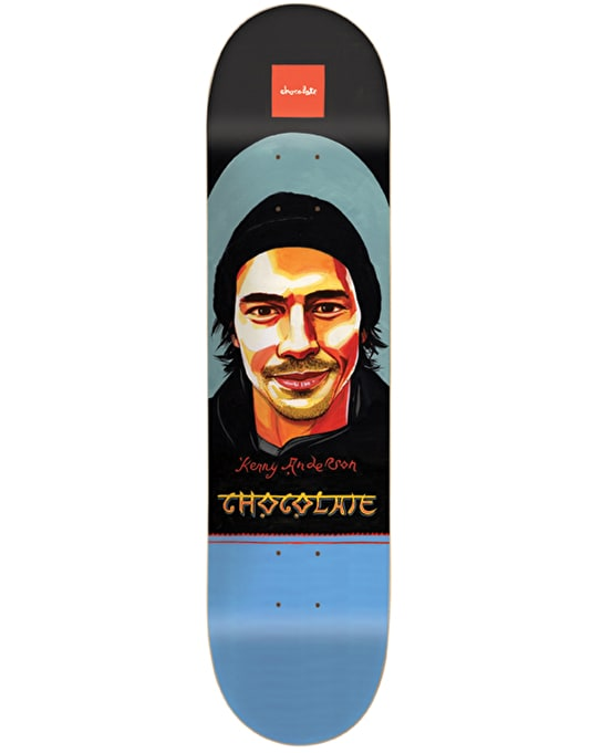 Chocolate Anderson Bollywood Pro Deck - 7.5""