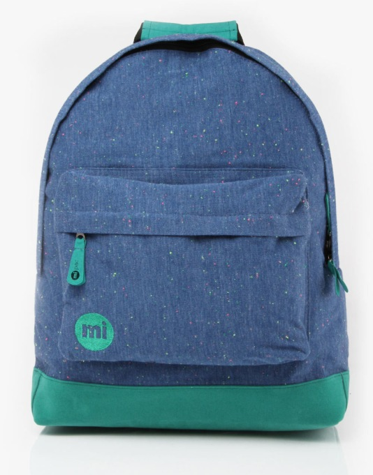 Mi-Pac Jersey Backpack - Blue