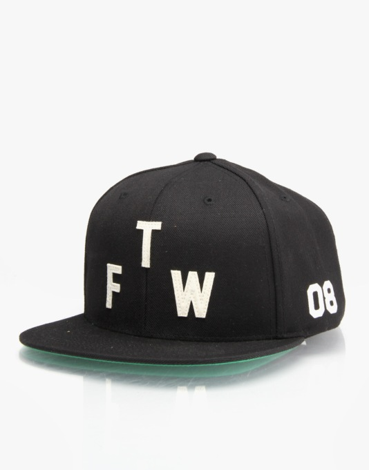Primitive Winner Snapback Cap - Black