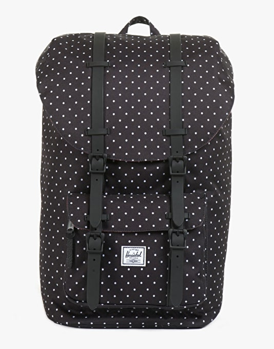 Herschel Supply Co. Little America Backpack - Polka Dot/Black Rubber