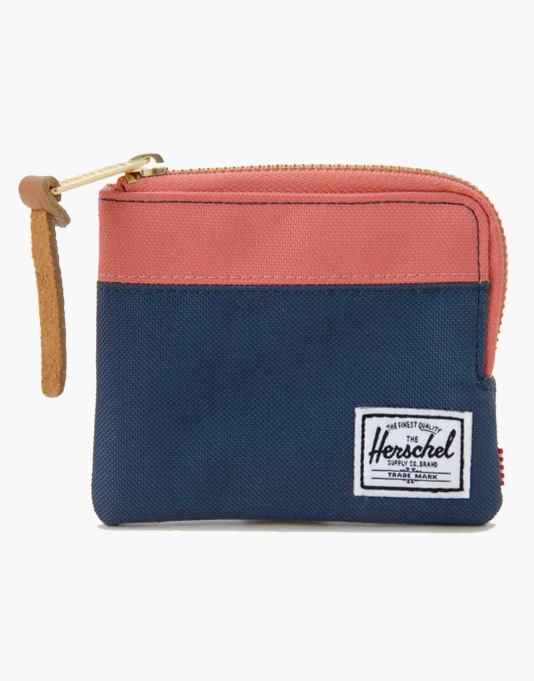 Herschel Supply Co. Johnny Wallet - Navy/Flamingo