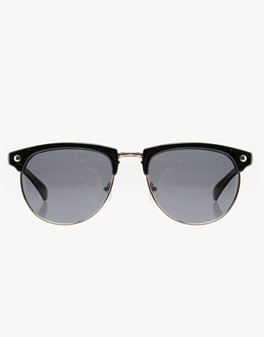 Glassy Sunhater Marty Sunglasses - Black/Gold