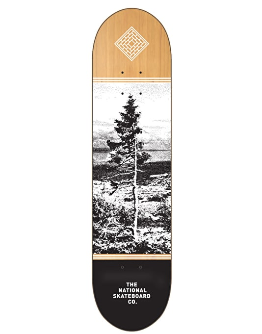 The National Skateboard Co. Dalarna Team Deck - 7.875""
