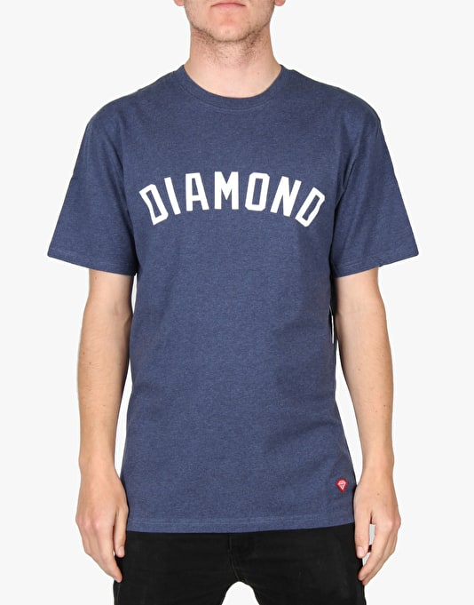 Diamond Supply Co. Arch T-Shirt - Heather Navy