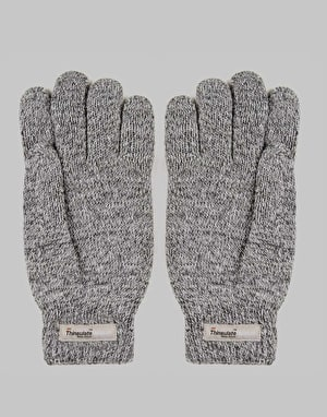Carhartt Scott Gloves - Dark Grey Heather/White