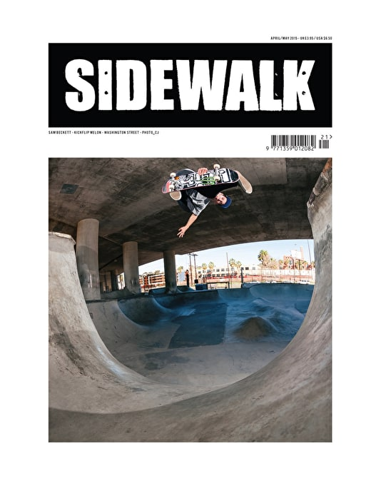 Sidewalk Magazine Issue 221 April/May 2015
