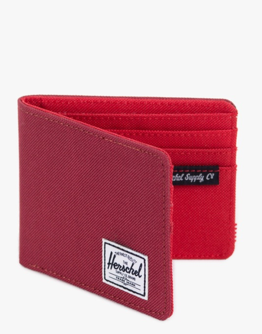 Herschel Supply Co. Roy Wallet - Burgundy/Red Poly