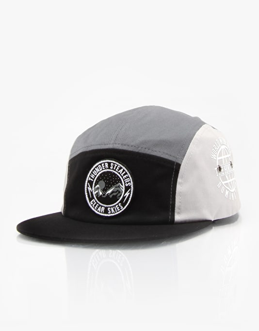 The Hundreds Loretto 5 Panel Cap - Black