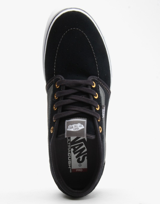 Vans Lindero 2 Pro Skate Shoes - Navy/Grey