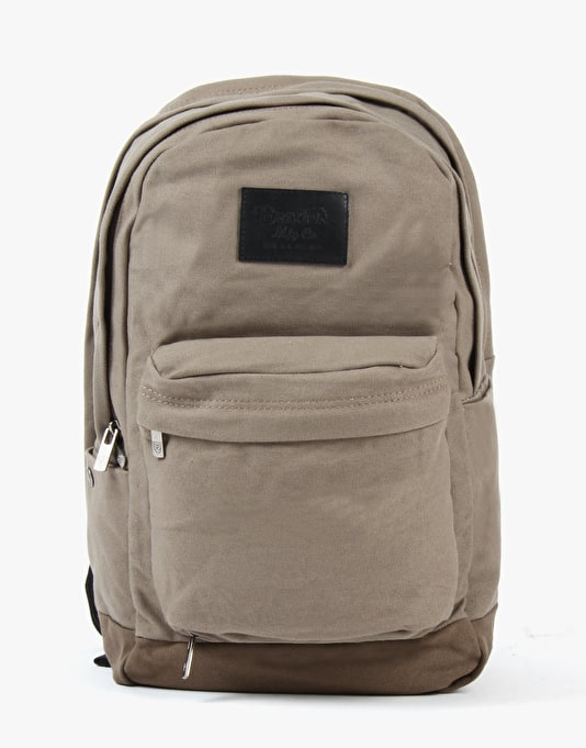 Brixton Basin Backpack - Taupe/Brown