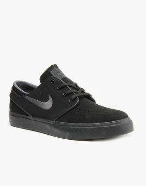 Nike SB Zoom Stefan Janoski Skate Shoes - Black/Anthracite