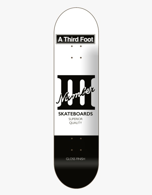 A Third Foot Card Team Deck - 8.5""