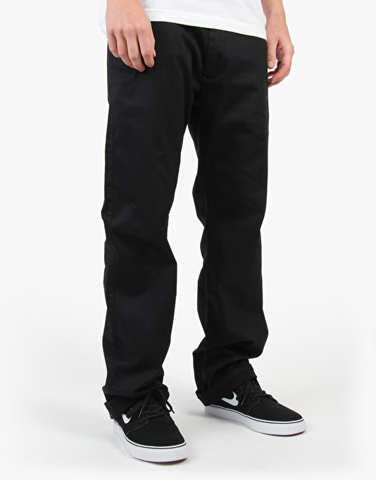 Girl Chino Pants - Black