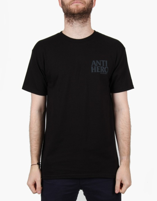 Anti Hero Lil Black Hero T-Shirt - Black