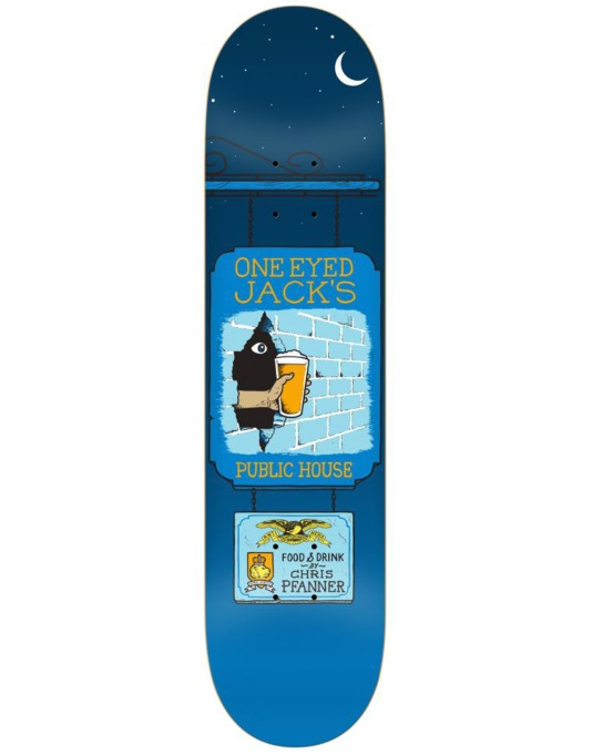 Anti Hero Pfanner Pub Crawl Pro Deck - 8.25""
