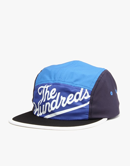 The Hundreds Slant 5 Panel Cap - Blue