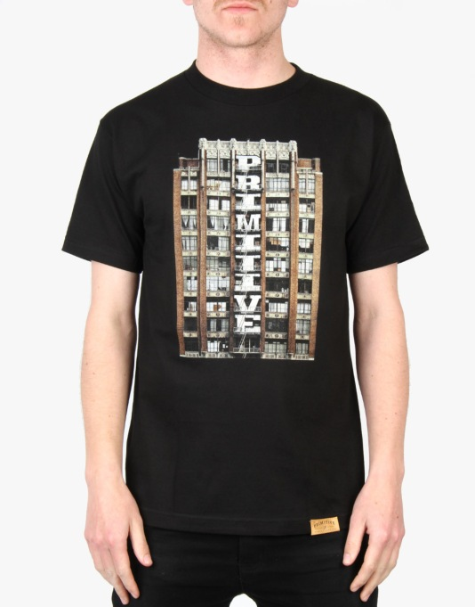 Primitive Downtown T-Shirt - Black