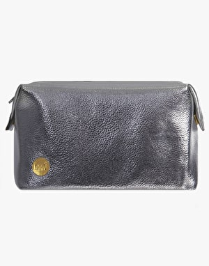 Mi-Pac Wash Bag - Metallic Silver
