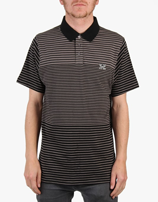 Fourstar Harper Polo Shirt - Pewter