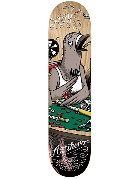 Anti Hero Roy Wild Jokers Pro Deck - 8.12""