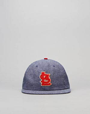 New Era MLB St Louis Cardinals Retro Pop Snapback Cap - Heather Navy