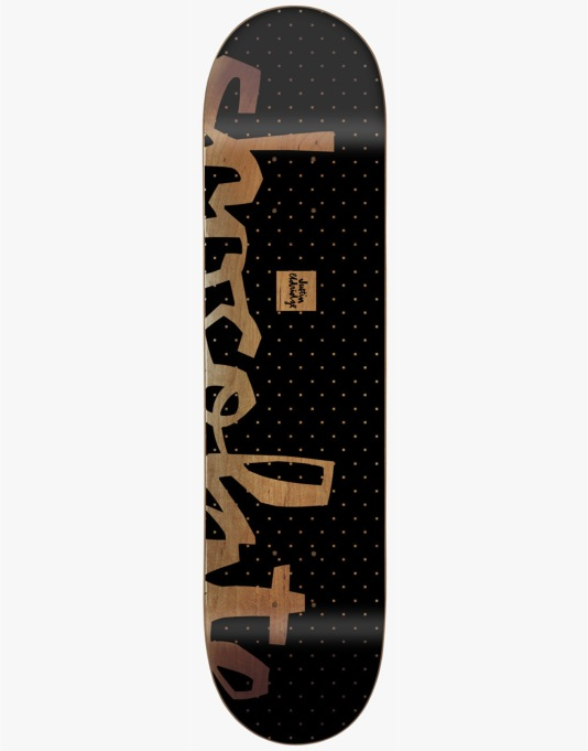 Chocolate Eldridge Floater Chunk Pro Deck - 7.875""