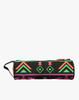 Mi-Pac Pencil Case - Aztec Black/Neon