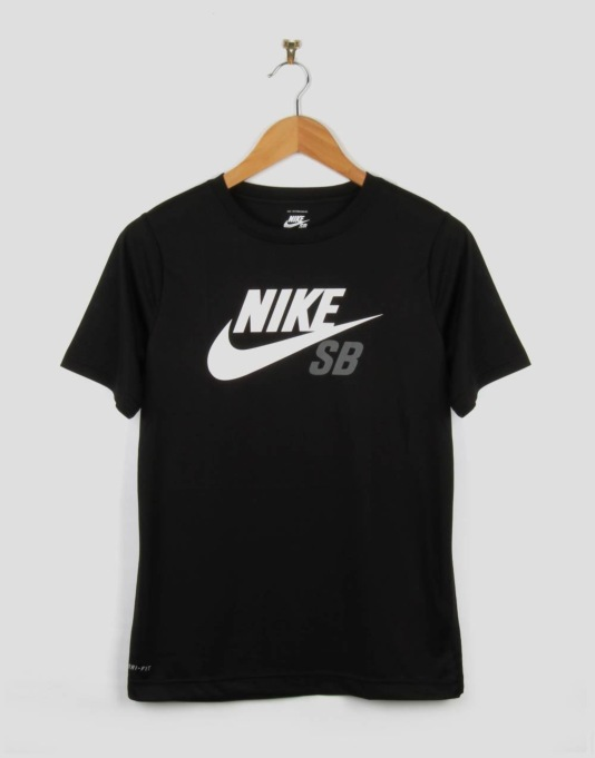 Nike SB Icon Boys T-Shirt - Black