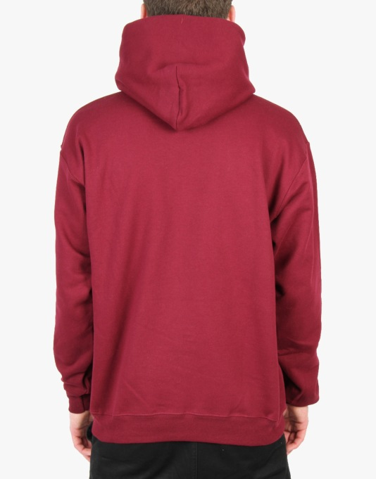 Thrasher Skate and Destroy Pullover Hoodie - Maroon