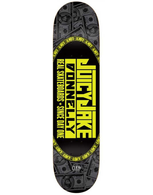 """Real Donnelly Juicy Jake Pro Deck - 8.25"""""""