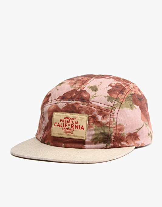 Official Rose 5 Panel Cap - Rose