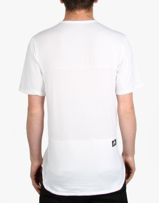 Nike SB Skyline Dri-FIT Cool Crew T-Shirt - White/Black