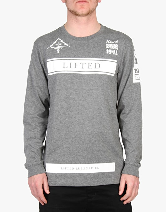 LRG Luminaries LS T-Shirt - Charcoal Heather